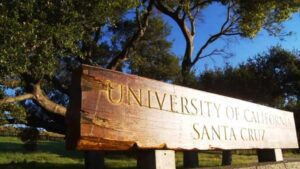 Photo of sign for UCSC
